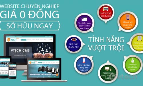 Vtech - 1000 website khởi nghiệp