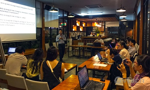 Workshop Hướng dẫn thiết kế Website từ A -> Z