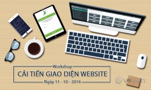 Workshop Vtech CMS - Hướng dẫn cải tiến giao diện Website