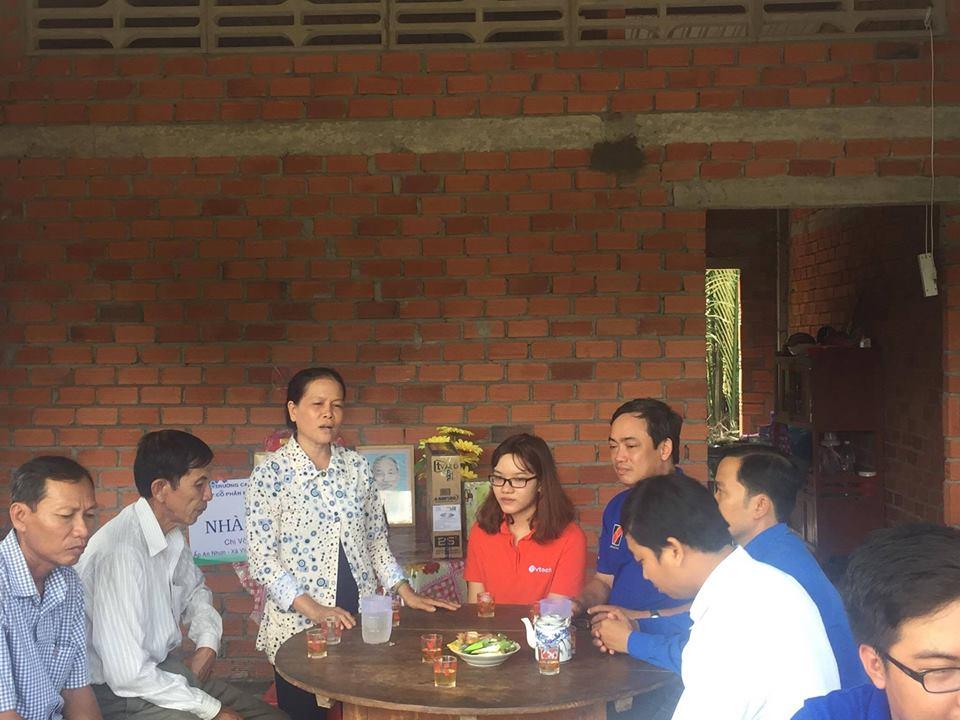 lễ bàn giao nhà nhân ái tại xã vĩnh an huyện ba tri bến tre