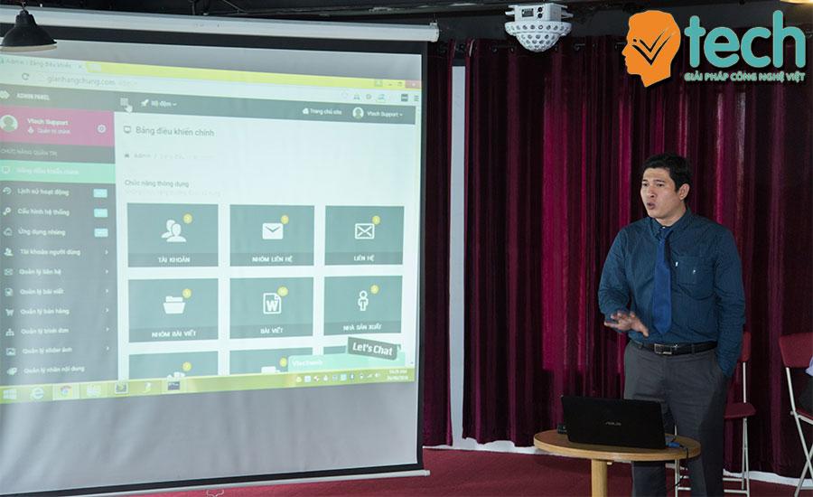 Hướng dẫn khách hàng trãi nghiệm tính năng nổi bật Vtech Web